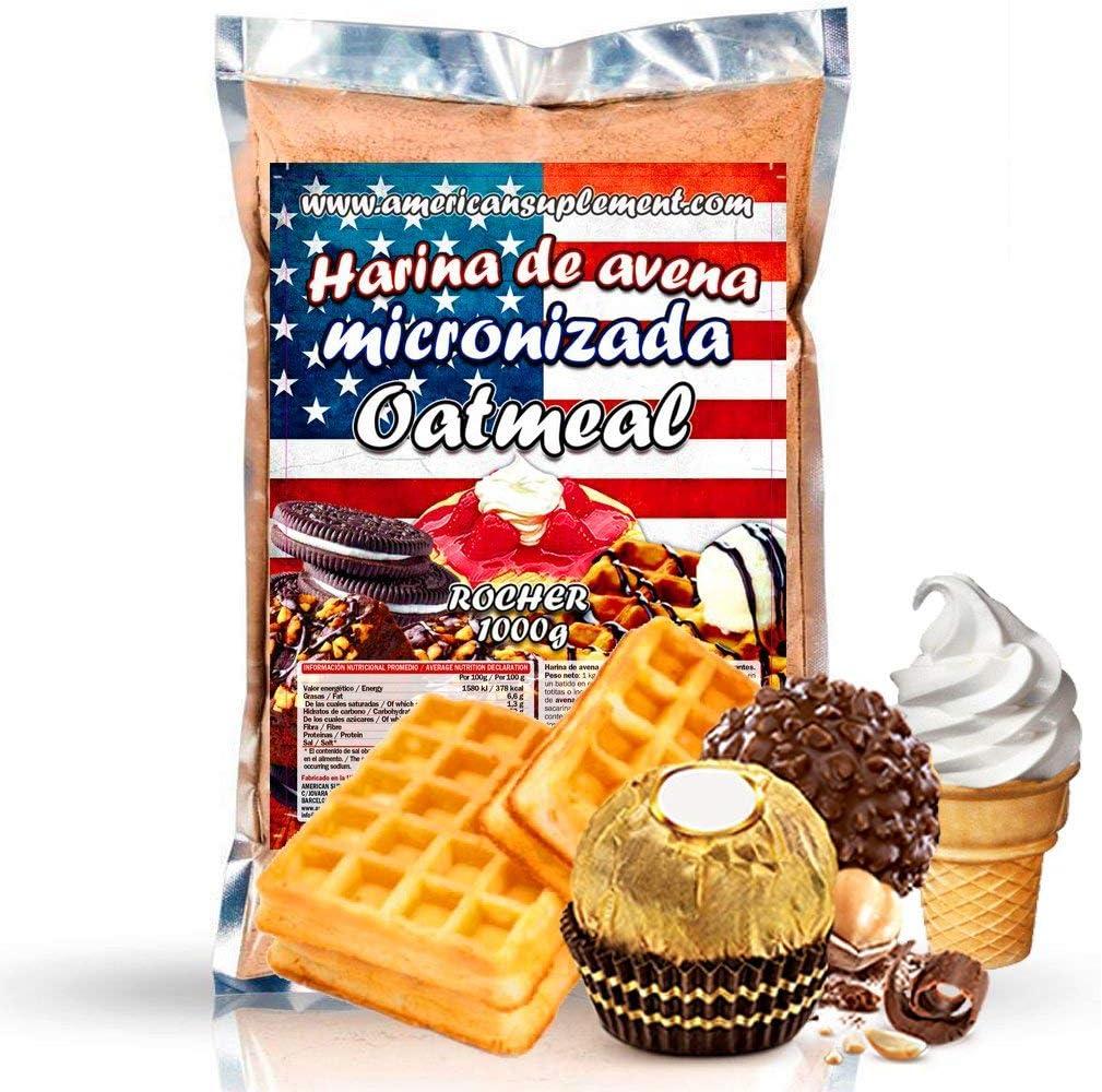 American Suplement - 1000 gr - Harina de Avena Integral, ideal ...