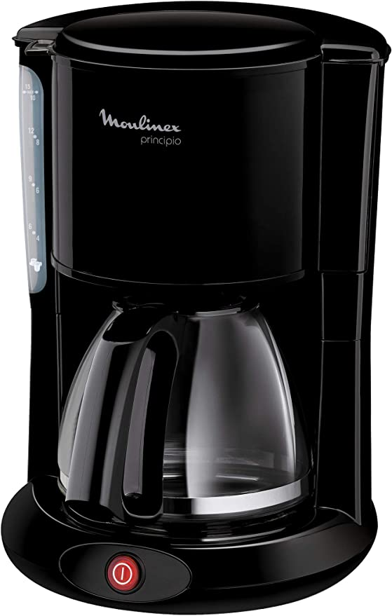Moulinex FG260811 Cafetera de goteo, 1000 W, 1.25 L, color negro: Amazon.es: Hogar