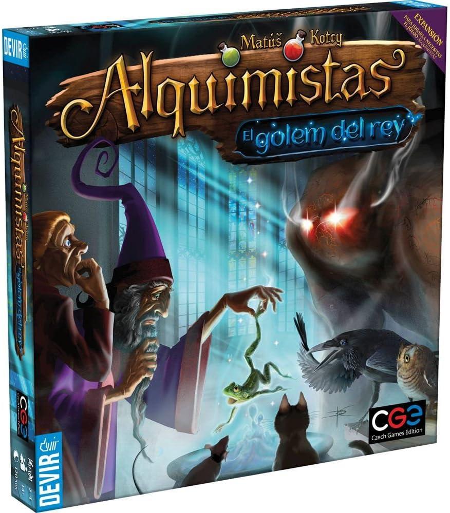 Devir Alquimistas, El Golem del Rey, Miscelanea (BGMISGOL): Amazon ...