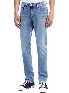 Calvin Klein Jeans Men Pants Paris Fitted Modern Textured K1IK101241 ... 4a8cdaa333f