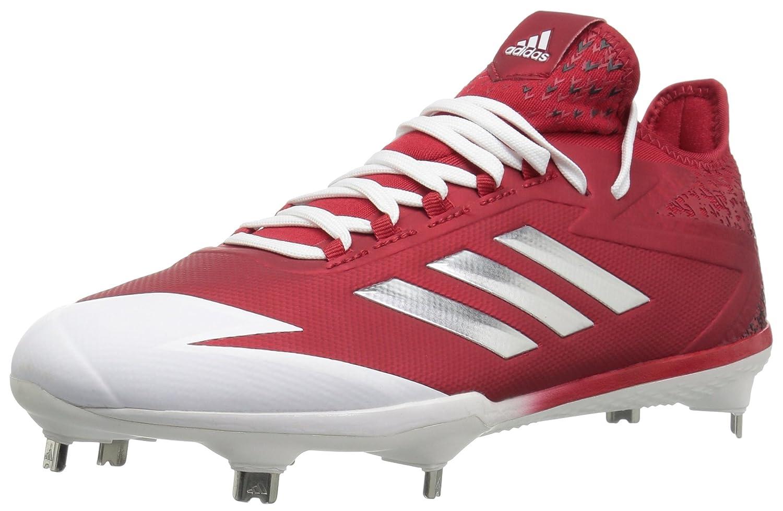 adidas Performance メンズ adizero Afterburner 4 B01N2W5O3X 12.5 Medium US Power Red/Metallic Silver/White Power Red/Metallic Silver/White 12.5 Medium US