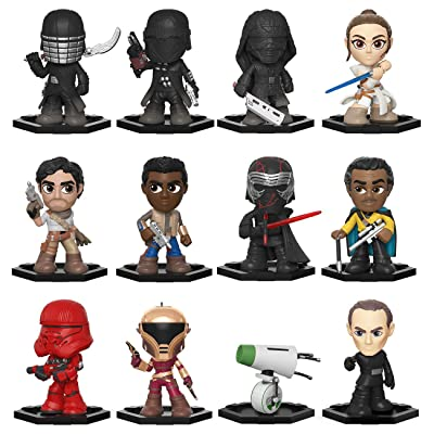 Funko Mystery Mini: Star Wars, Episode 9 Rise of Skywalker - One Random Mystery Figure, Multicolor: Toys & Games