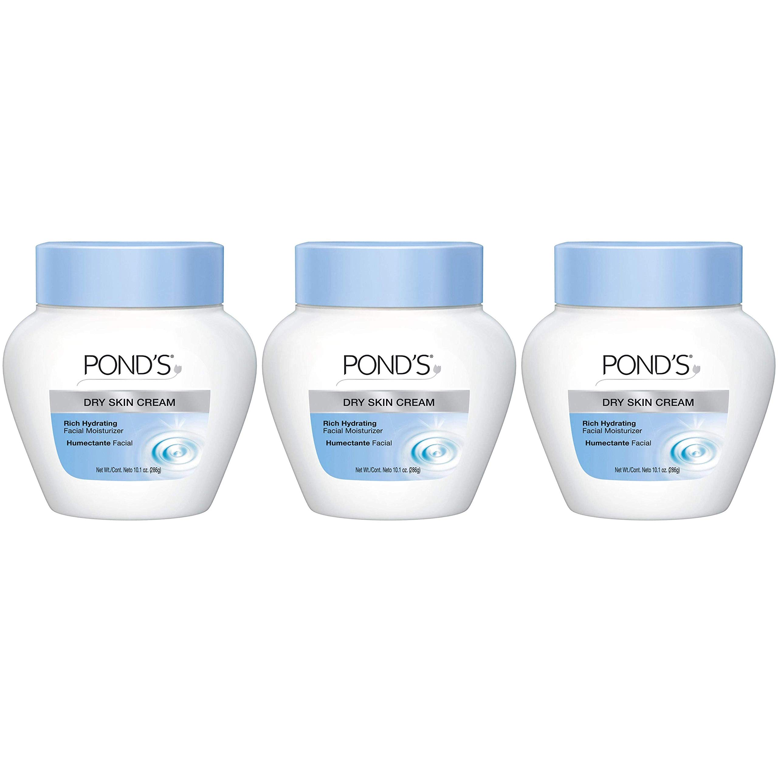 Pond's Extra Rich Dry Skin Cream - 10.1 oz - Caring Classic - Pack of 3 by Pond's