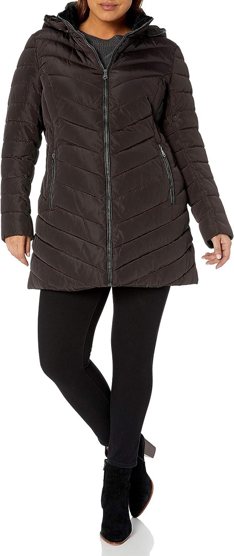 Nanette Lepore womens Long Puffer Coat