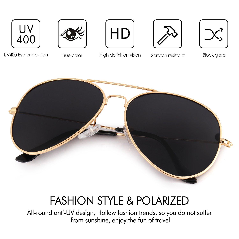 Polaroid Gafas de sol Rectangulares PLD 4014//S para mujer