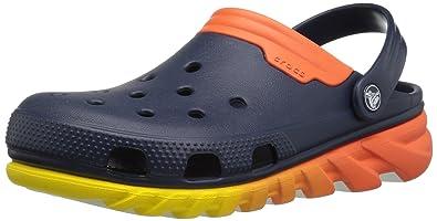 46f840d8119 crocs Unisex Duet Max Ombre Clog Mule