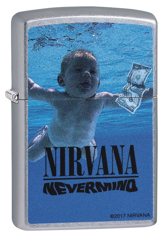 Zippo 29713 Nirvana Street Chrome Lighter