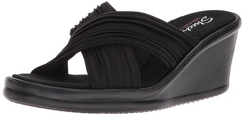 14234e24d7cc Skechers Cali Women s Women s Rumblers-Luxe Thread Slide Sandal ...