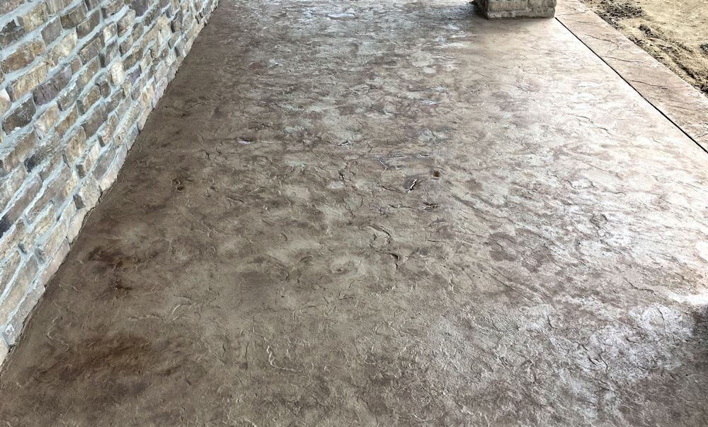 Pennsylvania Slate Seamless Concrete Texture Skin Stamp Set (4 piece / Small)