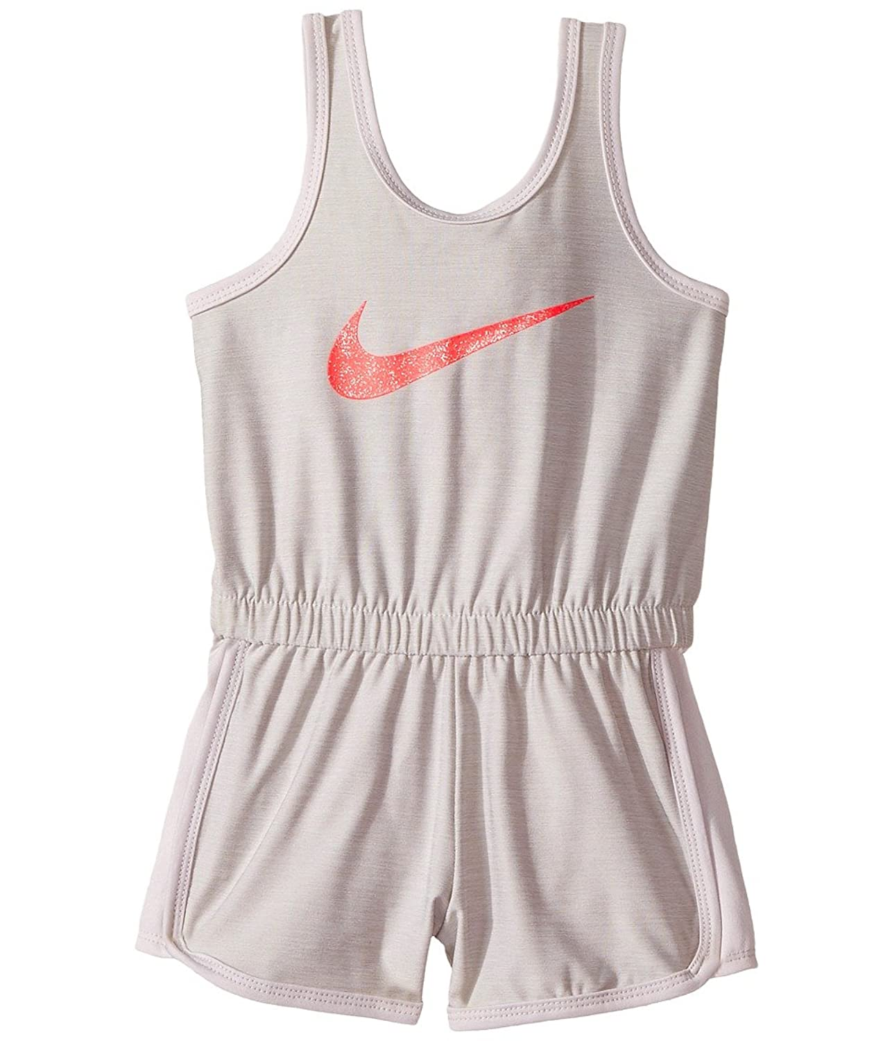 Nike Kids Dri-Fit Sport Essentials Romper Toddler White Girls Jumpsuit Rompers One Piece