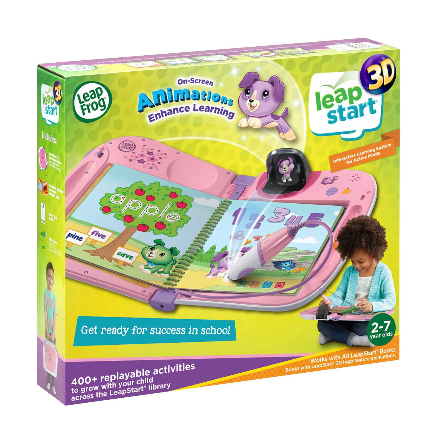 LeapFrog LeapStart 3D Interactive Learning System Amazon Exclusive, Violet by LeapFrog (Image #6)