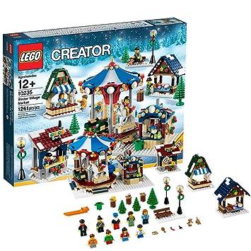 LEGO Creator Expert Winter Village Market, Building Sets - Amazon Canada