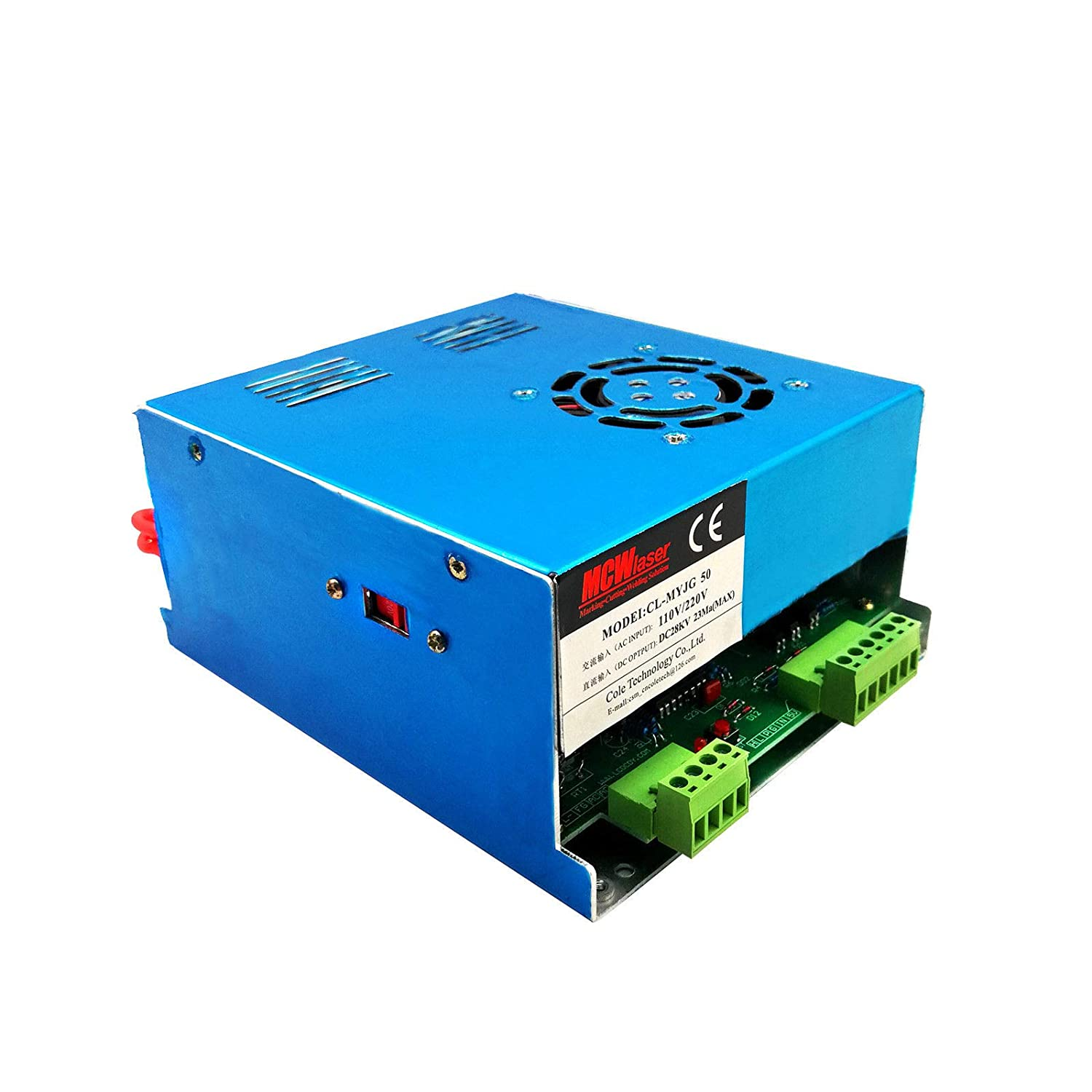 Amazon com: 40W 50W CO2 Laser Power Supply for CO2 Laser