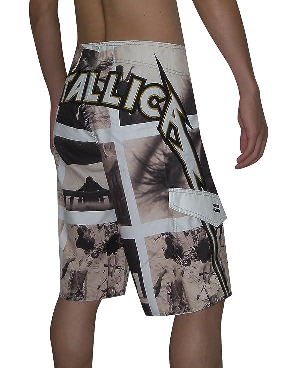 5e359d8cd3 Billabong Metallica Death Magnetic Mens Skate & Surf Boardshorts 36  Multicolor: Amazon.co.uk: Clothing