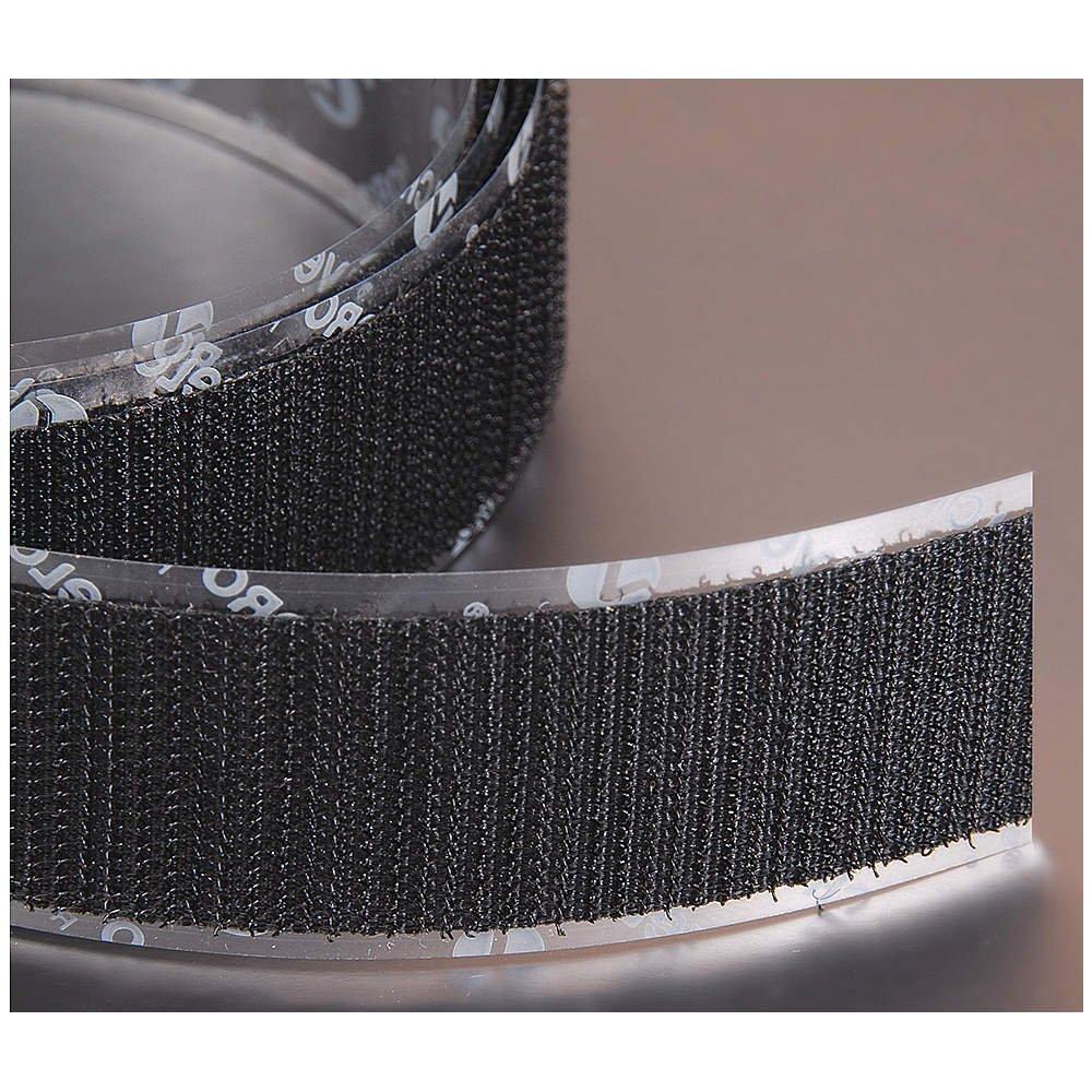 """Black VELCRO BRAND  LOOP 1000-3//4/"""" Sew-On 8289 25 YARDS"""