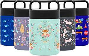 Simple Modern Provision Insulated Food Jar Thermos Leak Proof Stainless Steel Storage Lunch Container, 12oz, Kids: Fox and the Flower