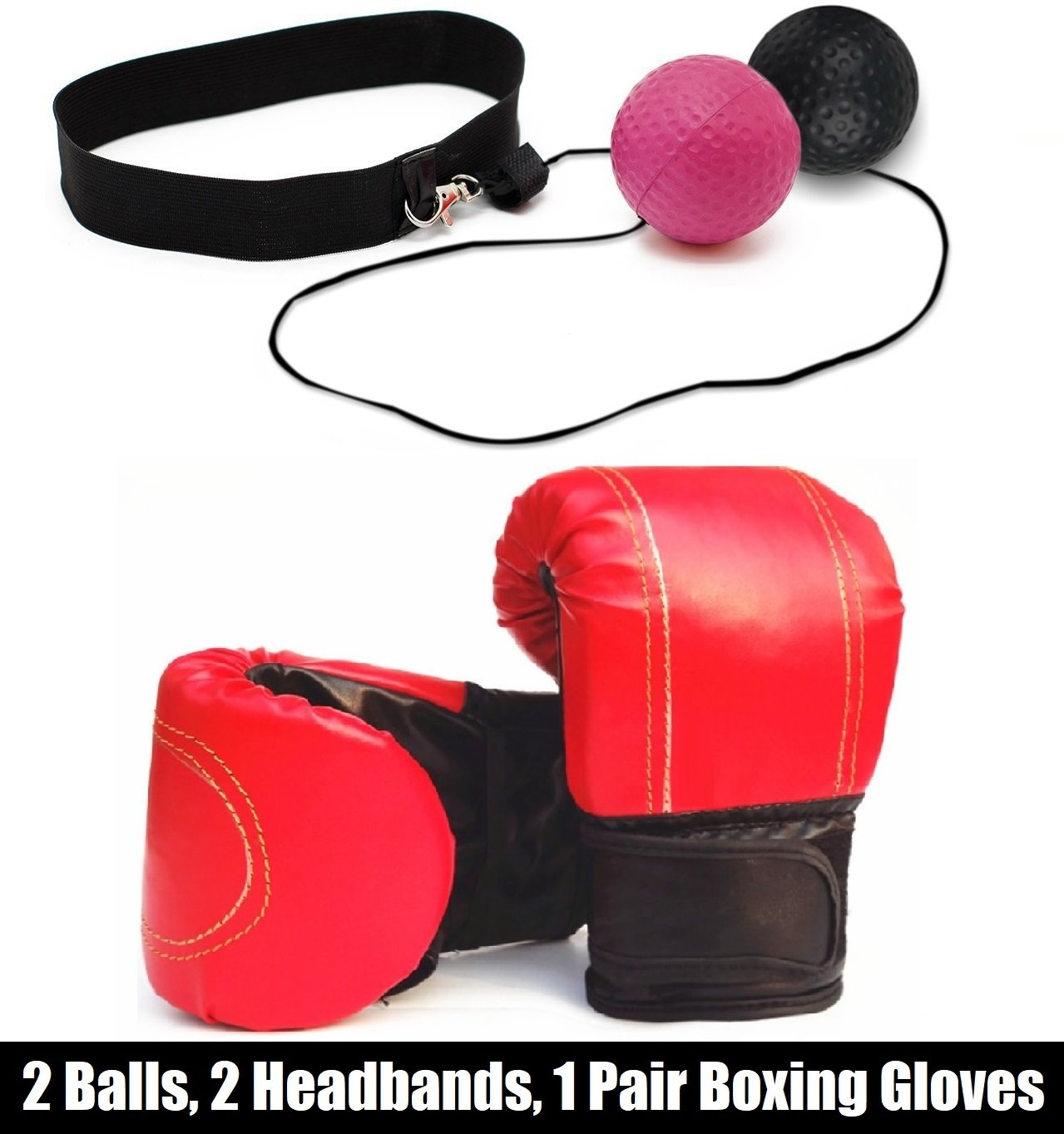 【国際ブランド】 boxwish Eye Boxingボールon文字列、2難易度レベルReflexボールwith boxwish 2ヘッドバンドとボクシンググローブ, Softer Thanテニスボール、Boxing Punching精度改善& Hand Coordination Eye Coordination B07BJ8W2DV, 鎌倉カフス工房:29fdbf7d --- a0267596.xsph.ru