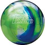 Brunswick Tzone Ocean Reef Bowling Ball Tzone Ocean Reef Bowling Ball, Green/Blue/Silver, 8 lb