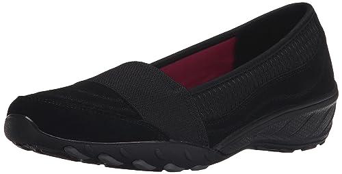 De Mujer Merceditas Color Skechers Cuero 22907 41 Negro Talla wqPBqEInp