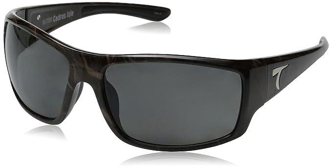 e712cb761bc Amazon.com  Typhoon Men s Cedros Island Polarized Wrap Sunglasses ...