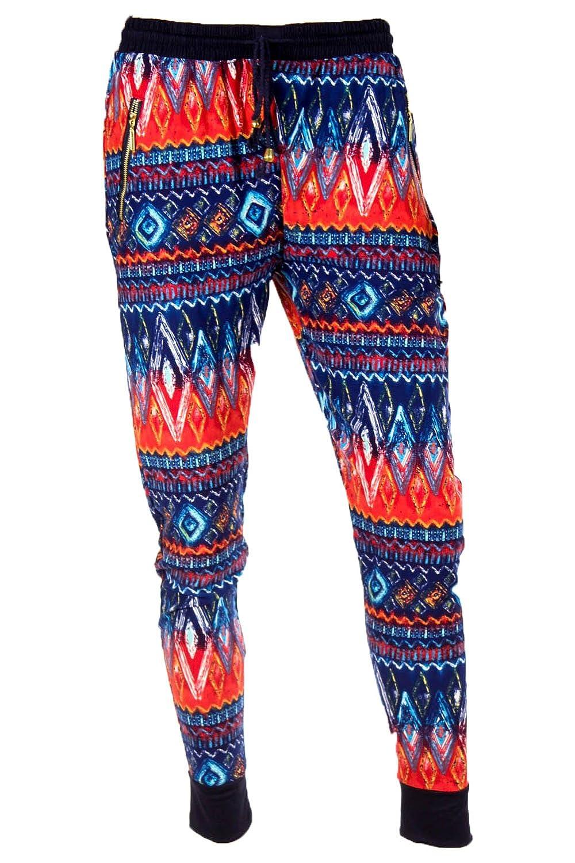 0c541306a33a4e Yado Women's Printed Zipper Pocket Joggers Pants lovely - africapcp.com