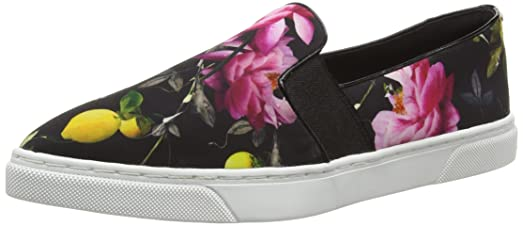 Ted Baker Womens Thfia LowTop Sneakers Multicolor Citrus Bloom 4