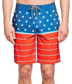 f97ef67158444 Goodfellow & Co Men's Board Shorts Sailboats Print, X-Large | Amazon.com