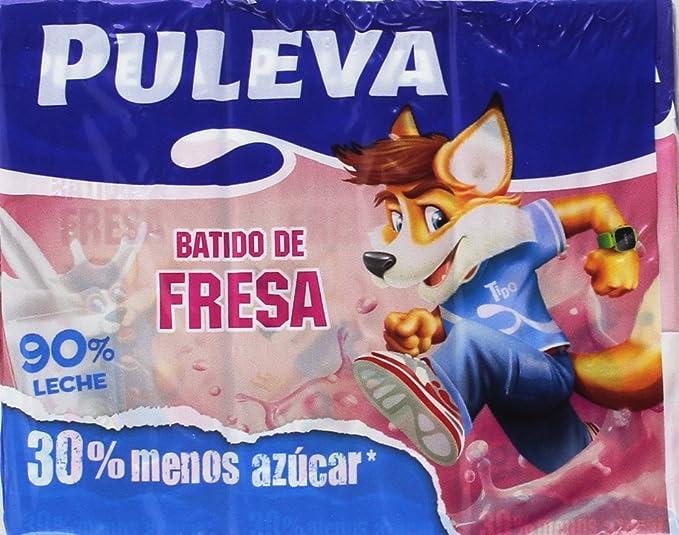 Puleva Batido Fresa - 5 Packs de 6 und