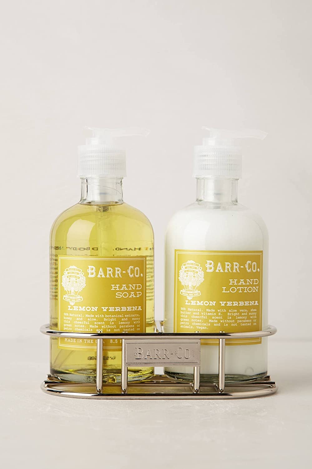 Barr Co Hand & Body Duo with Caddy (Lemon Verbena)