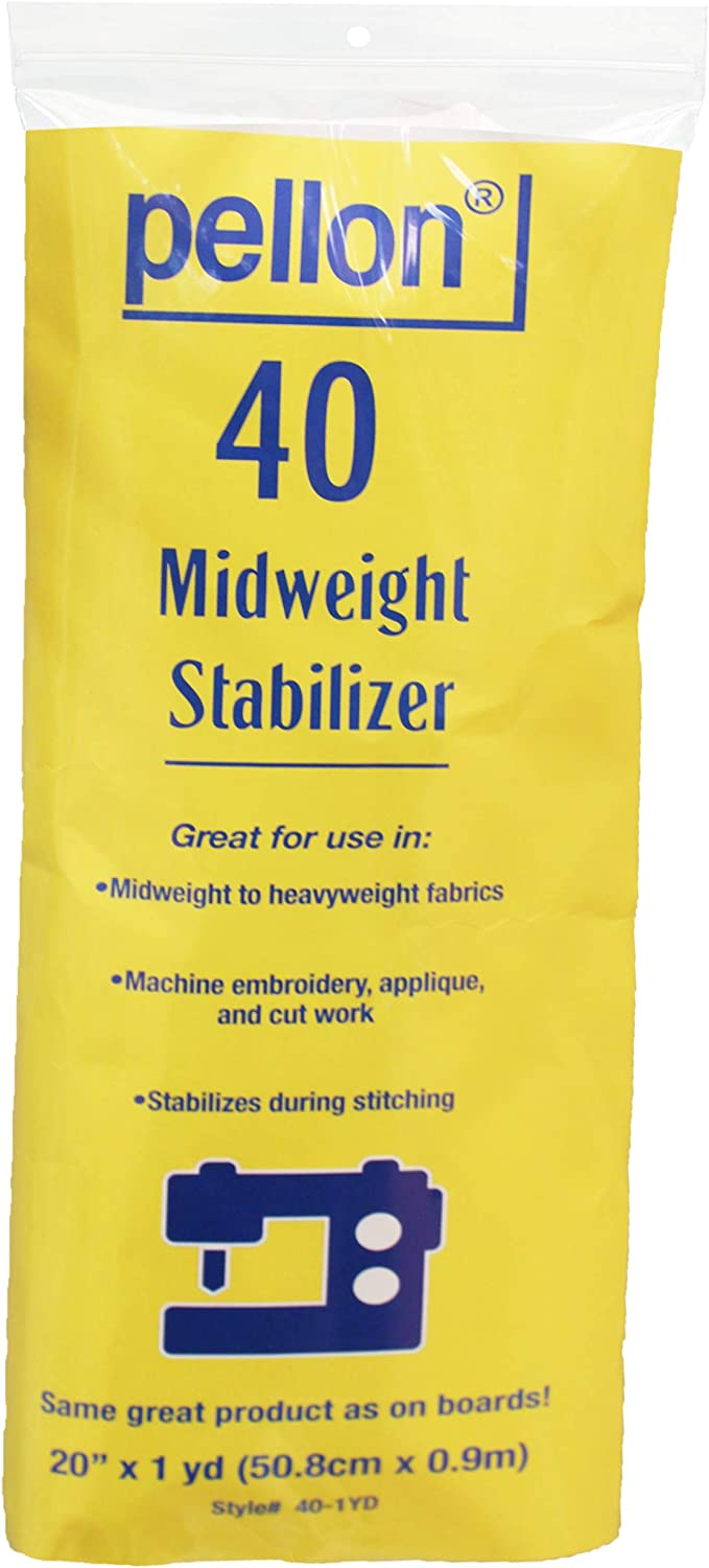 Pellon Stabilizers (1 Pack, 40)
