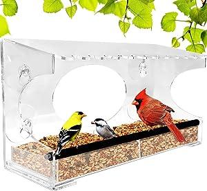 Gear XL Window Bird Feeder