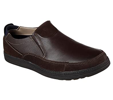 Droven Malten Mens Slip On Loafers Chocolate 14