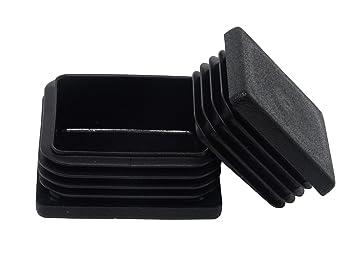 Fußstopfen 4 Stück  30 x  30mm Vierkant Rohrstopfen Fußkappen NEU