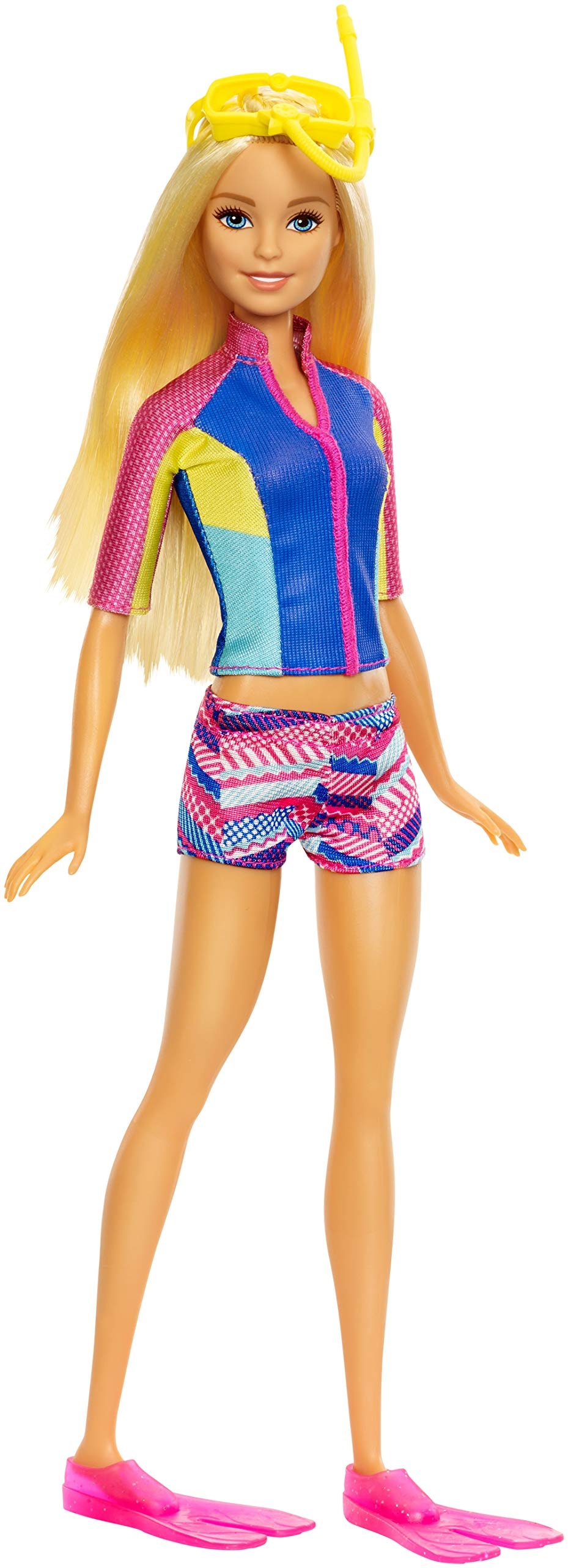 Barbie Doll with Color-Change Top, Puppy Squirt Toy and Dolphin with Sounds