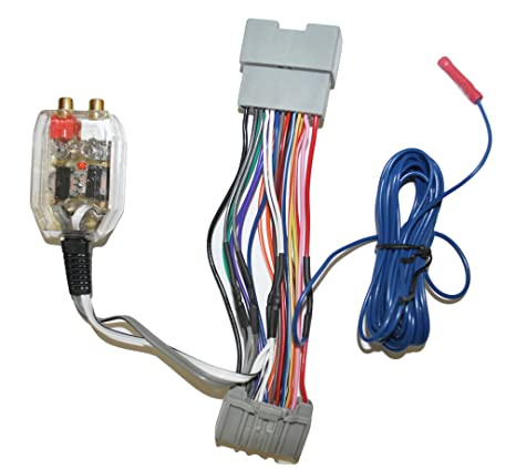 amazon com factory radio add a amp amplifier sub interface wire rh amazon com factory amp wiring harness bmw amp wiring harness