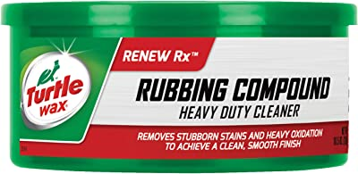 Turtle Wax T-230A Rubbing Compound & Heavy-Duty Cleaner