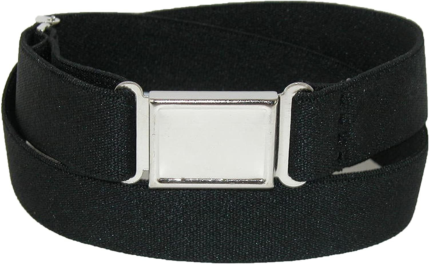 New CTM Kids/' Elastic Stretch Belt with Magnetic Buckle