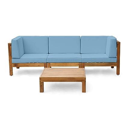 Amazon.com: Christopher Knight Home Brava - Sofá de madera ...