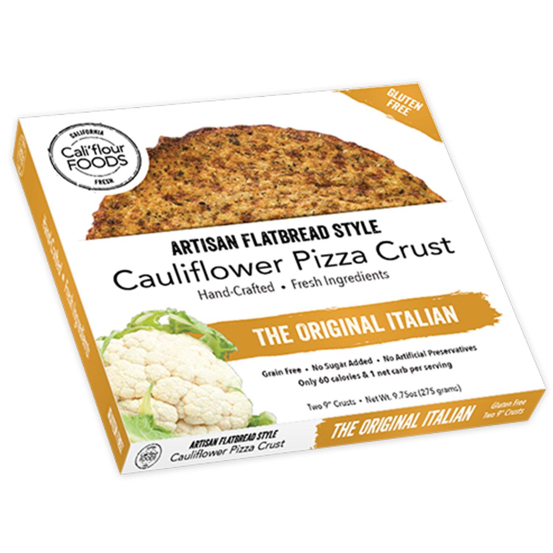 Cali\'flour Foods Gluten Free, Low Carb Cauliflower Original Italian ...