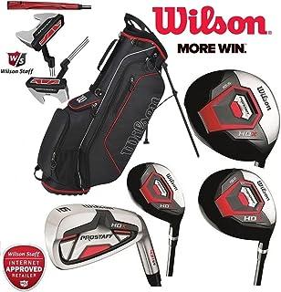 Set completo de 11 de palos de golf Wilson Prostaff, con mango de grafito HDX