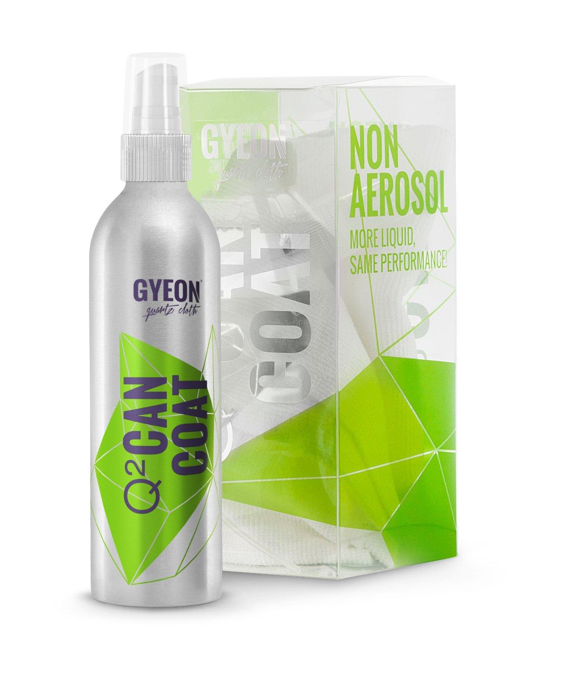 GYEON Quartz Q² CANCOAT - Hydrophobic Spray Ceramic Coating - Deep Ceramic Shine - sio2 Nano Ceramic Spray Coating - Ceramic Car Coating - GYEON Premium auto Detailing Supplies