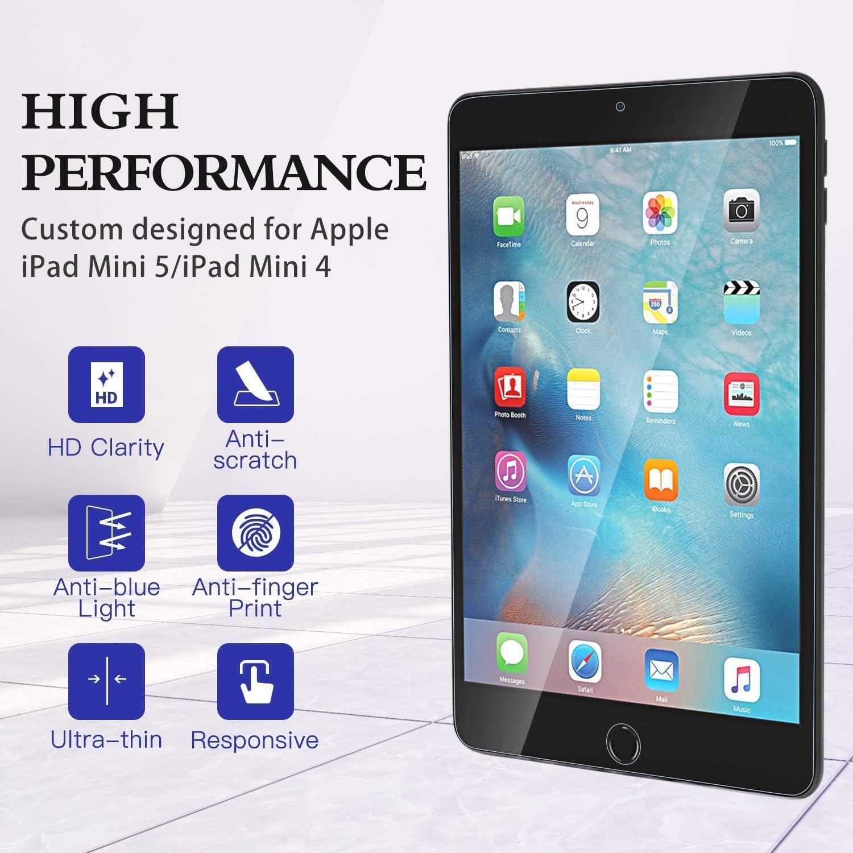 Dureza 9H FiiMoo Anti Blue Light Protector de Pantalla Compatible con iPad Air 3 2019 // iPad Pro 10.5 Inch, Bloquea la luz Azul da/ñina excesiva y los Rayos UV Alivie la Fatiga Ocular
