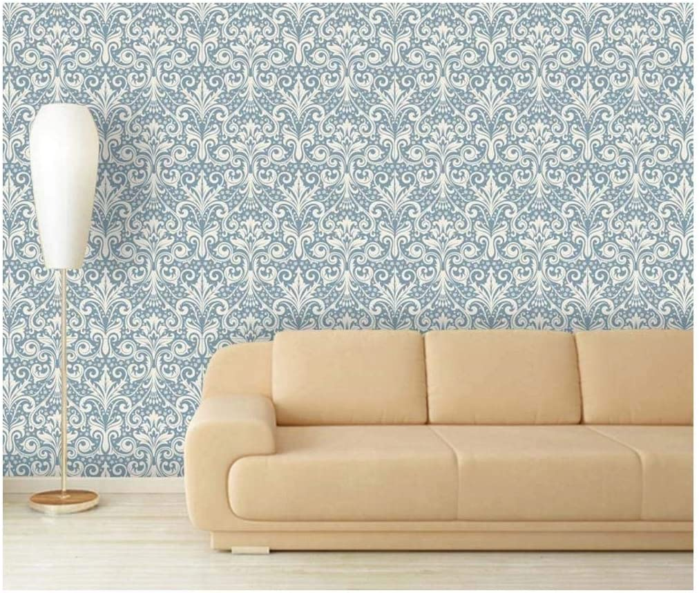 Large Wall Mural Seamless Floral Pattern Vinyl Wallpaper Removable