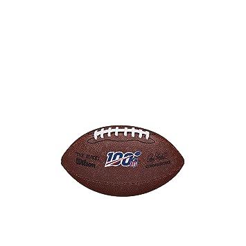 Wilson NFL100 - Balón de fútbol (tamaño pequeño): Amazon.es ...