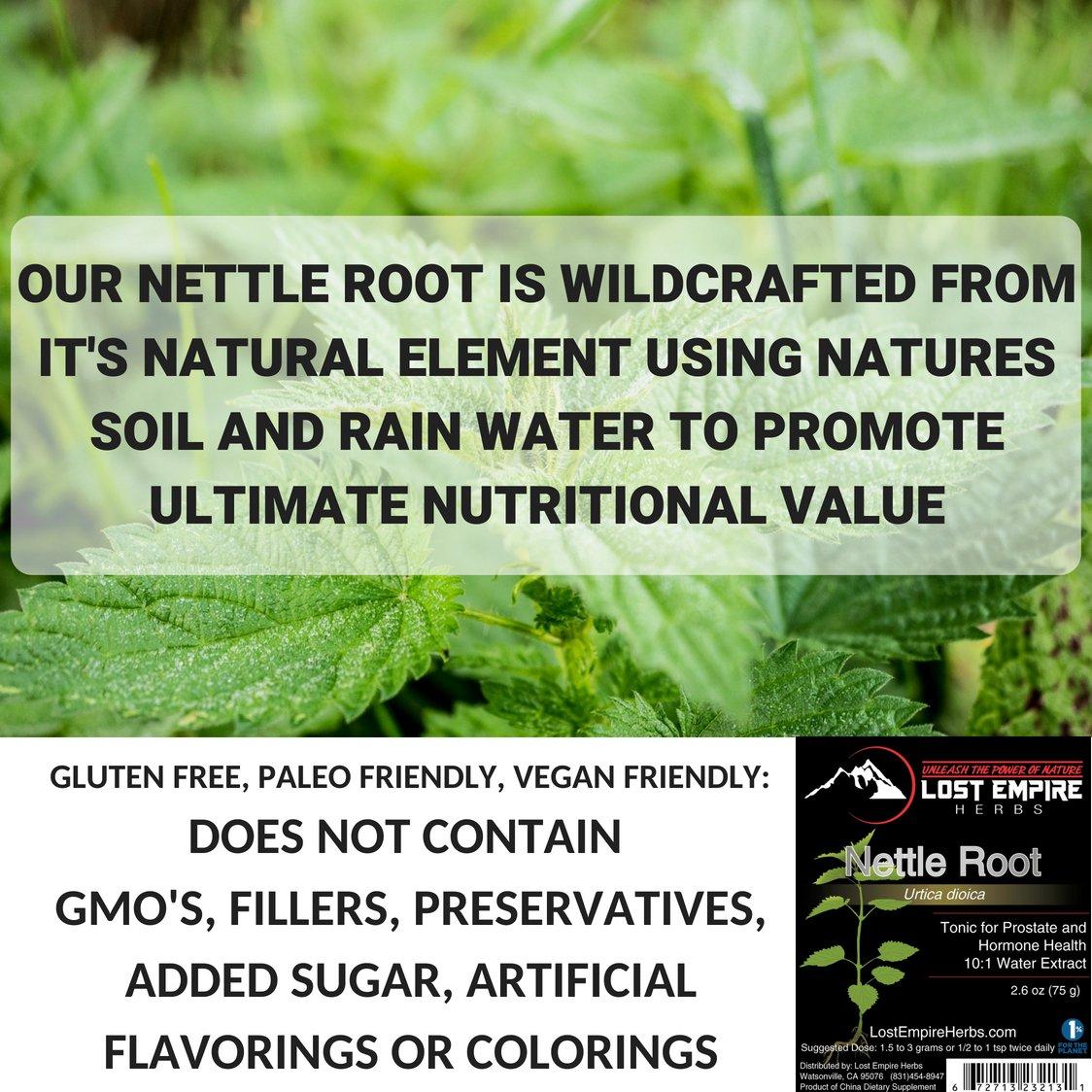 nettle root free testosterone