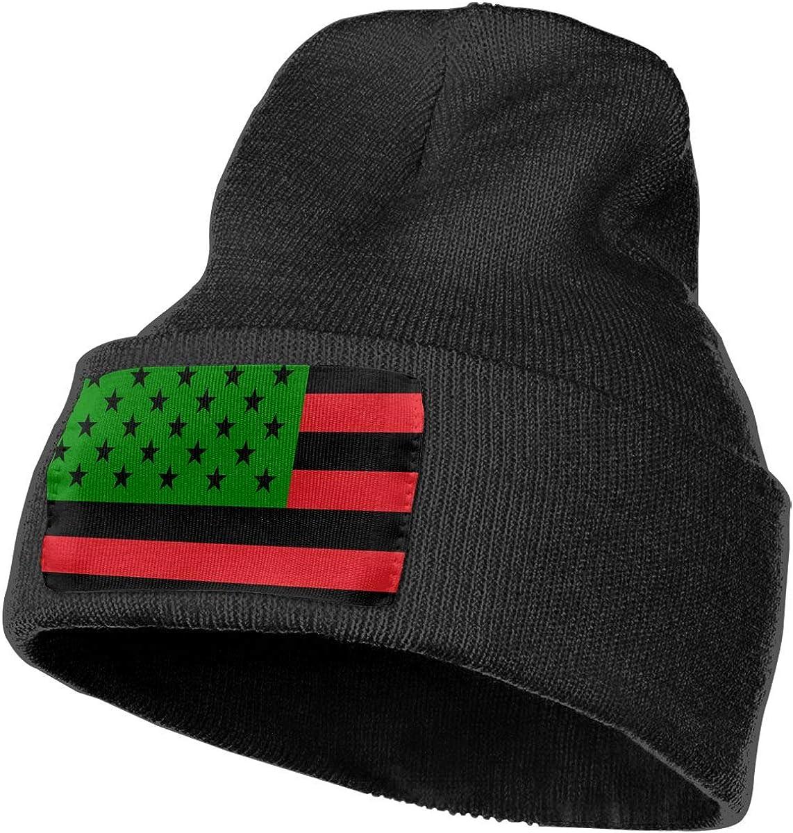 Ruin Black American Flag Fashion Knitting Hat for Men Women 100/% Acrylic Acid Mas Beanie Hat