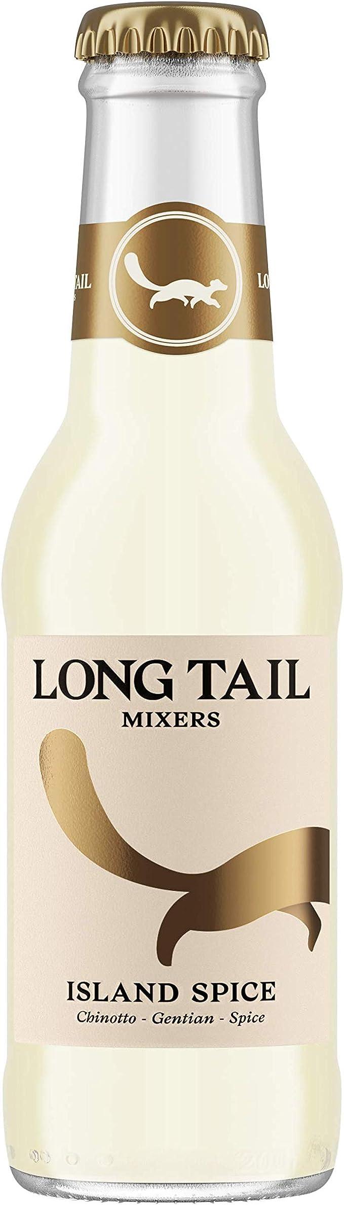 Mezclador de especias Island 200 ml, paquete de 24 mezcladores para ron, tequila o vodka, ingredientes 100% naturales