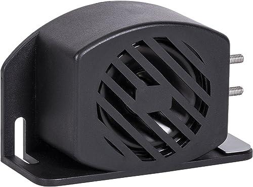LAMPHUS SoundAlert Backup Alarm Beeper for Trucks 12V – 48V DC SAE J994 Class C 97dB Reverse Back-Up Alarm for Heavy Equipment Cars Vehicles