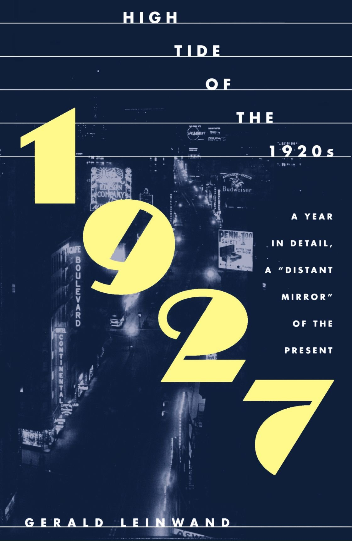 1927: High Tide of the 1920's PDF