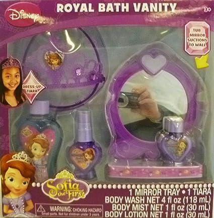 Disney Princess Sofia the First Sofia /& Royal Vanity Doll /& Accessories Playset